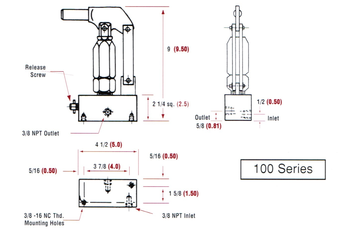 Modular Hand Pumps and Hydraulic Hand Pumps by TR Engineering, Inc