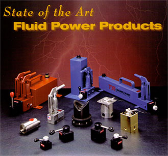 TR Engineering Hydraulic Components including Hydraulic Directional Control Valves and Hydraulic Hand Pumps.